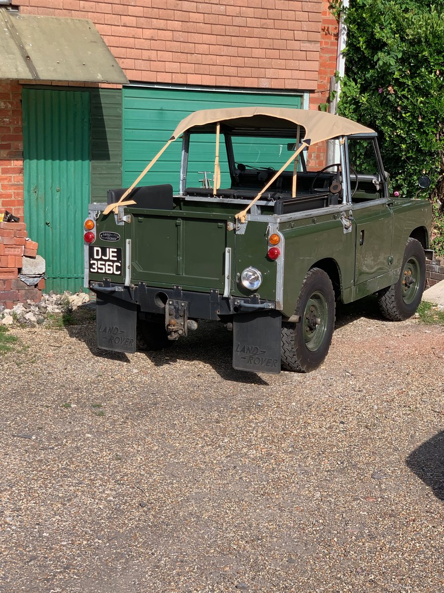 """LAND ROVER SERIES 2a 200 TDI CONVERSION 1965 88"""" SOLD (picture 3 of 3)"""