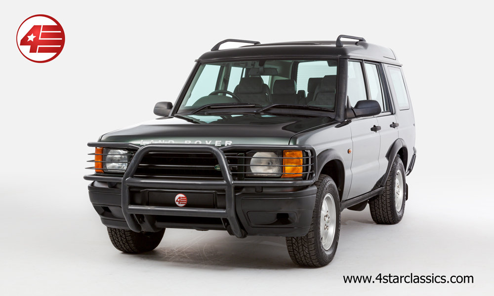 2000 Land Rover Discovery II 4.0 V8 /// Just 44k Miles For Sale (picture 1 of 6)