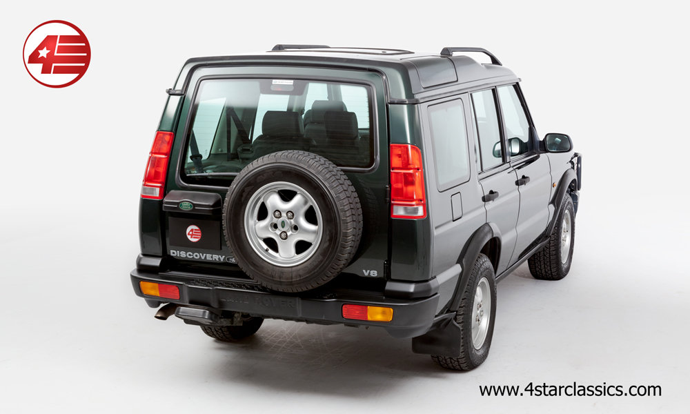 2000 Land Rover Discovery II 4.0 V8 /// Just 44k Miles For Sale (picture 3 of 6)