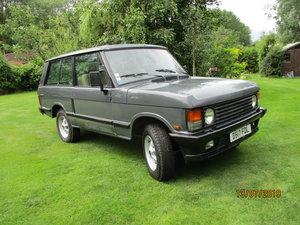 1987 Range Rover Classic 2 door LHD For Sale