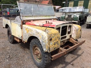 1949 Series 1 Land Rover 80 inch for restoration For Sale