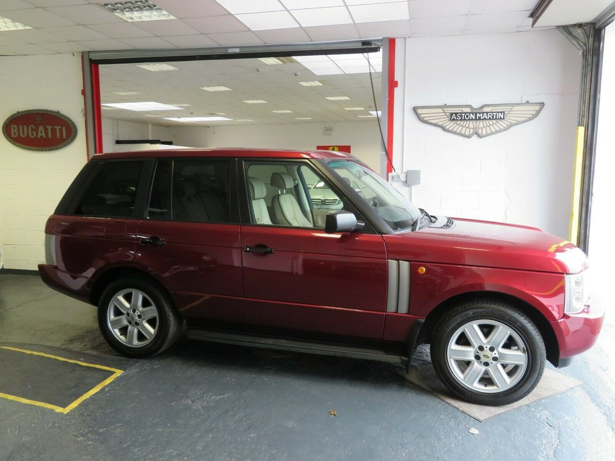 2003 Range Rover 4.4 V8 L322 Jersey Car For Sale (picture 1 of 6)