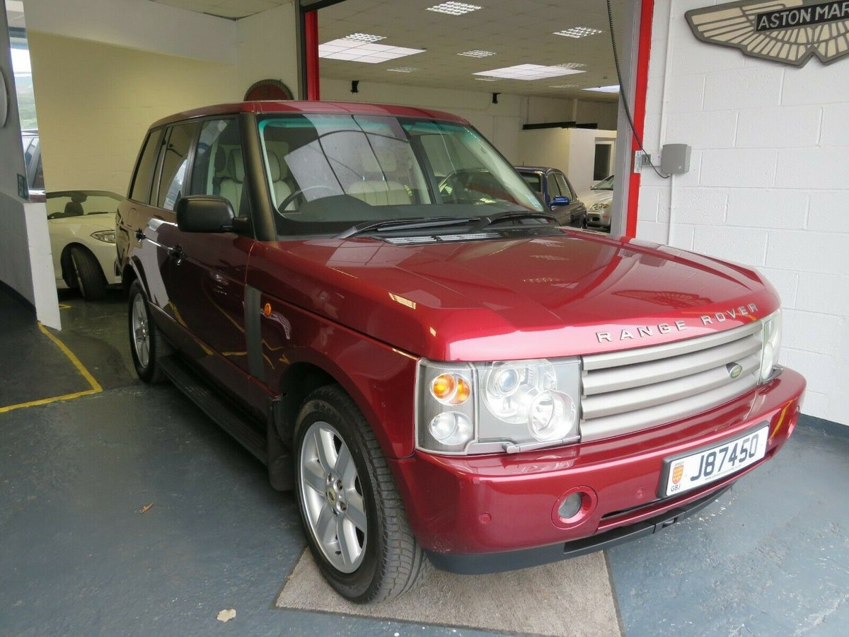 2003 Range Rover 4.4 V8 L322 Jersey Car For Sale (picture 2 of 6)
