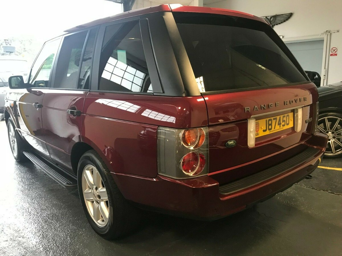 2003 Range Rover 4.4 V8 L322 Jersey Car For Sale (picture 3 of 6)