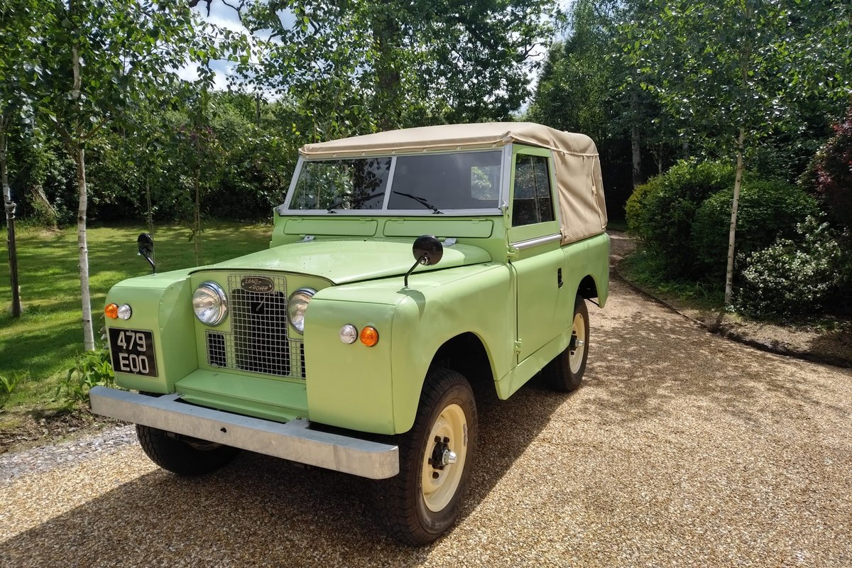 1963 Land Rover Series 11a for Sale For Sale (picture 1 of 6)