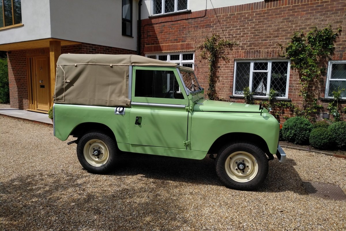 1963 Land Rover Series 11a for Sale For Sale (picture 3 of 6)