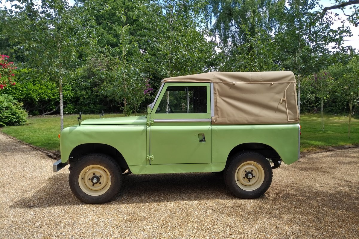 1963 Land Rover Series 11a for Sale For Sale (picture 6 of 6)