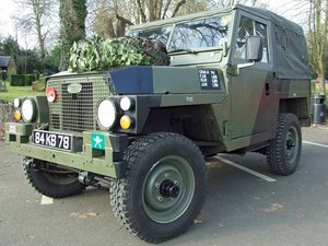 1983 Land Rover Series III Lightweight For Sale