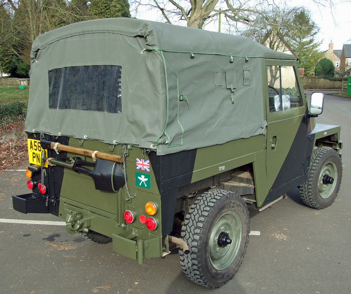 1983 Land Rover Series III Lightweight SOLD (picture 4 of 6)