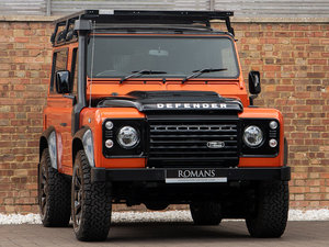 2016 Land Rover Defender 90 Adventure Edition - 1 OF 600 UK Cars For Sale