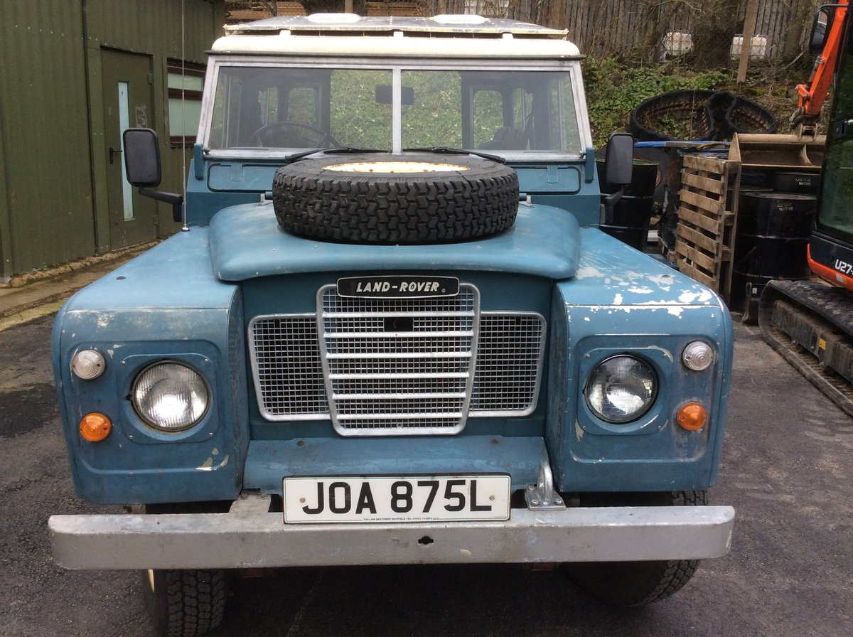 Genuine 1973 Series 3 Land Rover Station Wagon For Sale (picture 5 of 6)