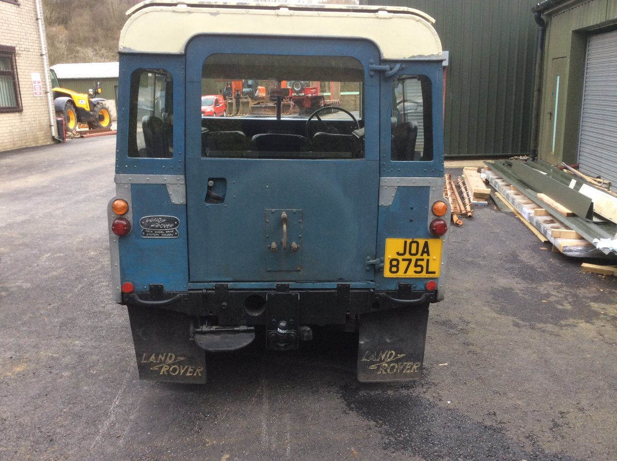 Genuine 1973 Series 3 Land Rover Station Wagon For Sale (picture 6 of 6)