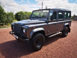 2015 Defender 110 County 2.2 D DPF 7 Seater
