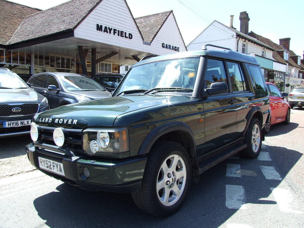 2003 Landrover Discovery TD5 ES Auto Epsom Green For Sale (picture 1 of 6)