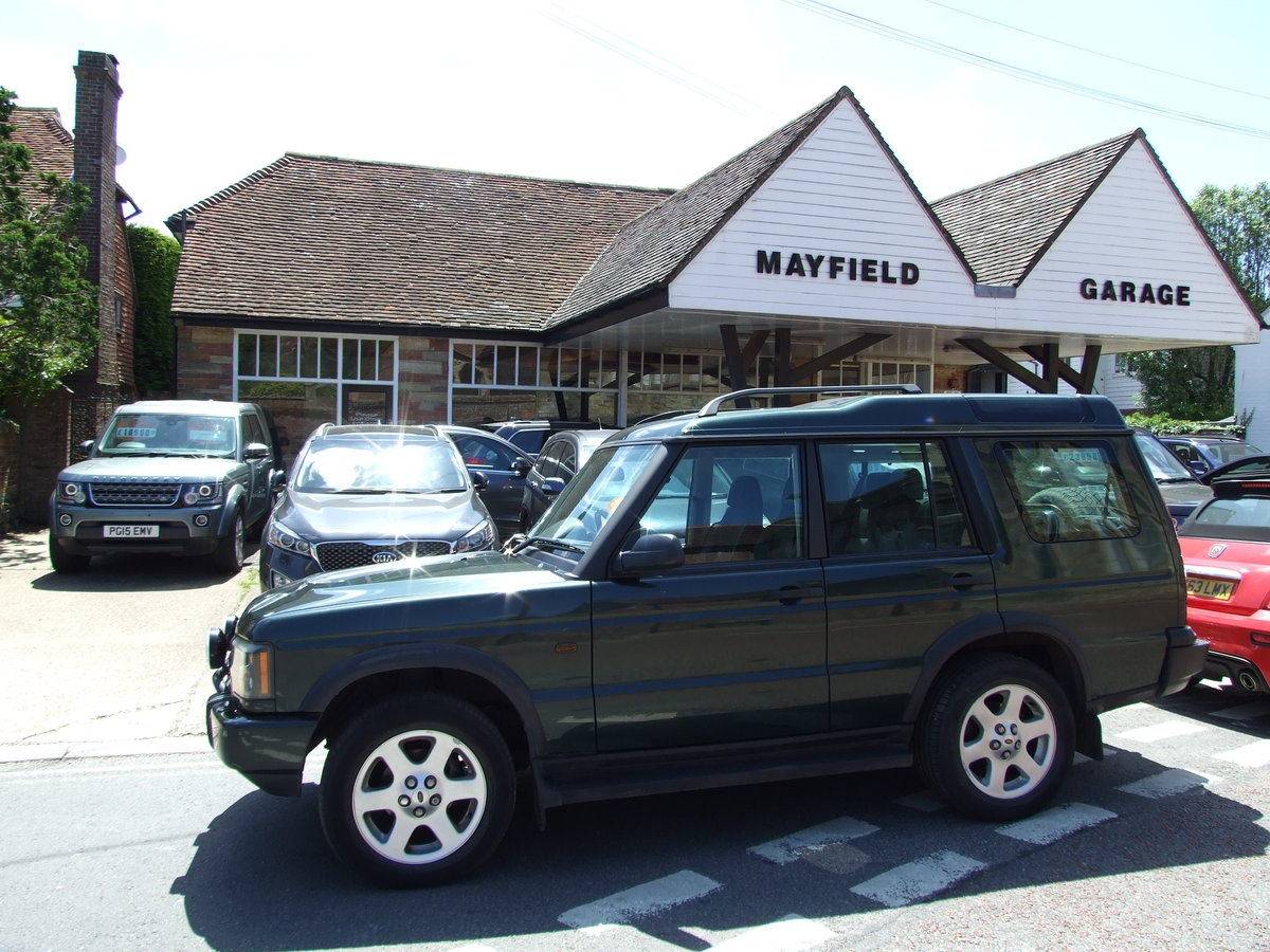 2003 Landrover Discovery TD5 ES Auto Epsom Green For Sale (picture 2 of 6)