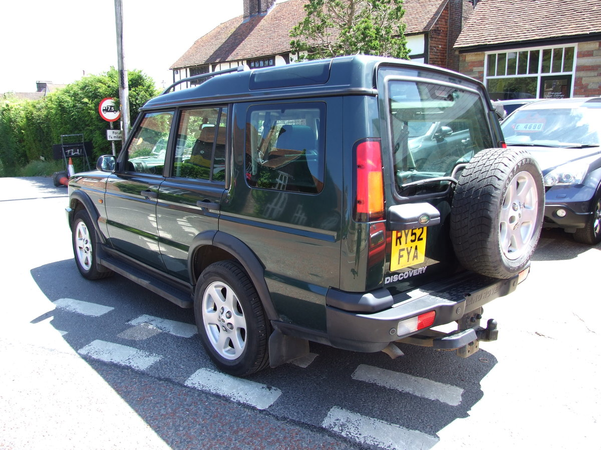 2003 Landrover Discovery TD5 ES Auto Epsom Green For Sale (picture 3 of 6)