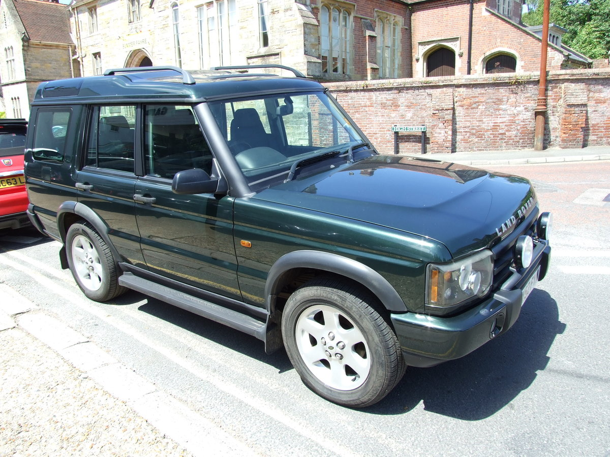 2003 Landrover Discovery TD5 ES Auto Epsom Green For Sale (picture 4 of 6)
