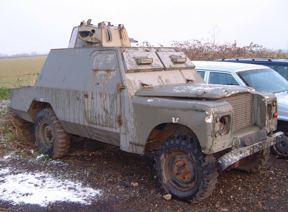 1972 Land Rover Shorland Mk3 For Sale (picture 1 of 3)