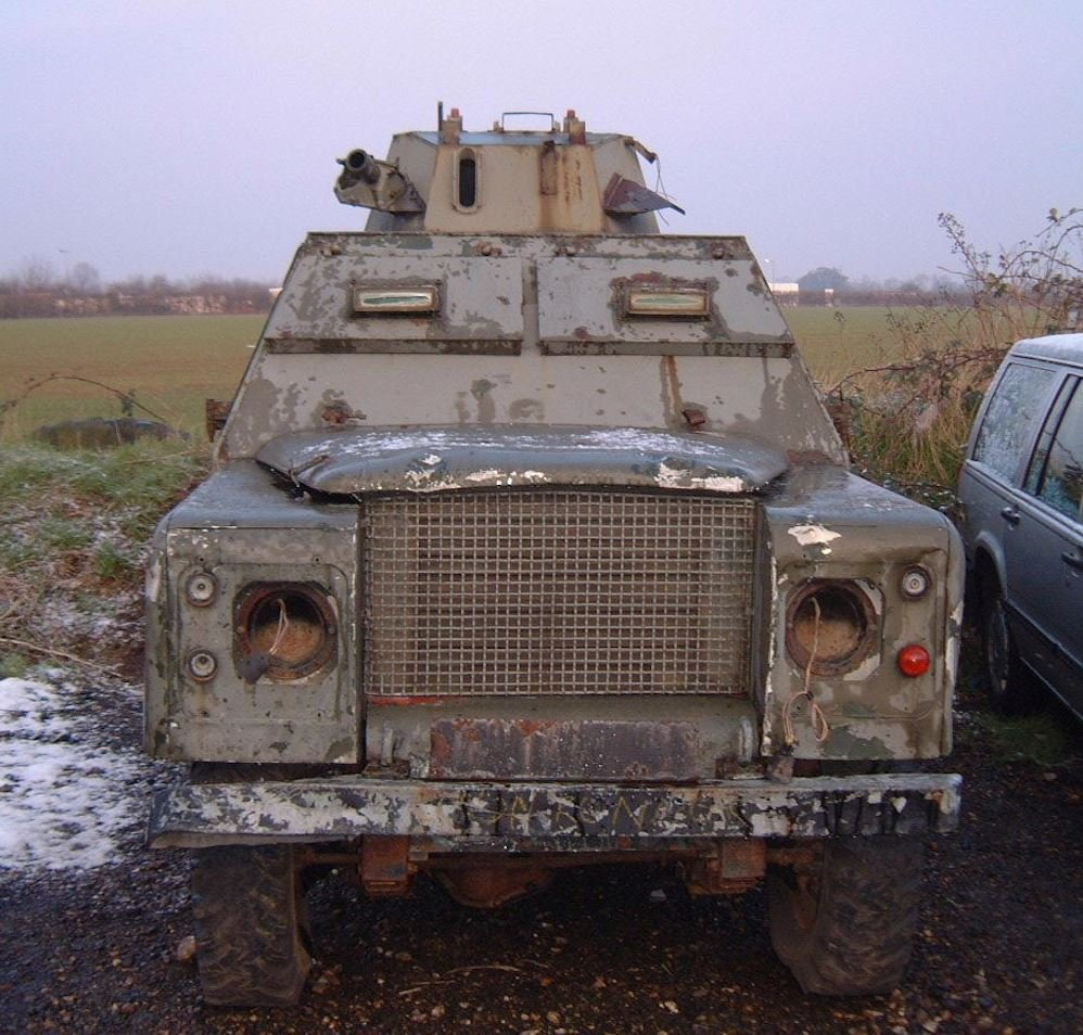 1972 Land Rover Shorland Mk3 For Sale (picture 2 of 3)
