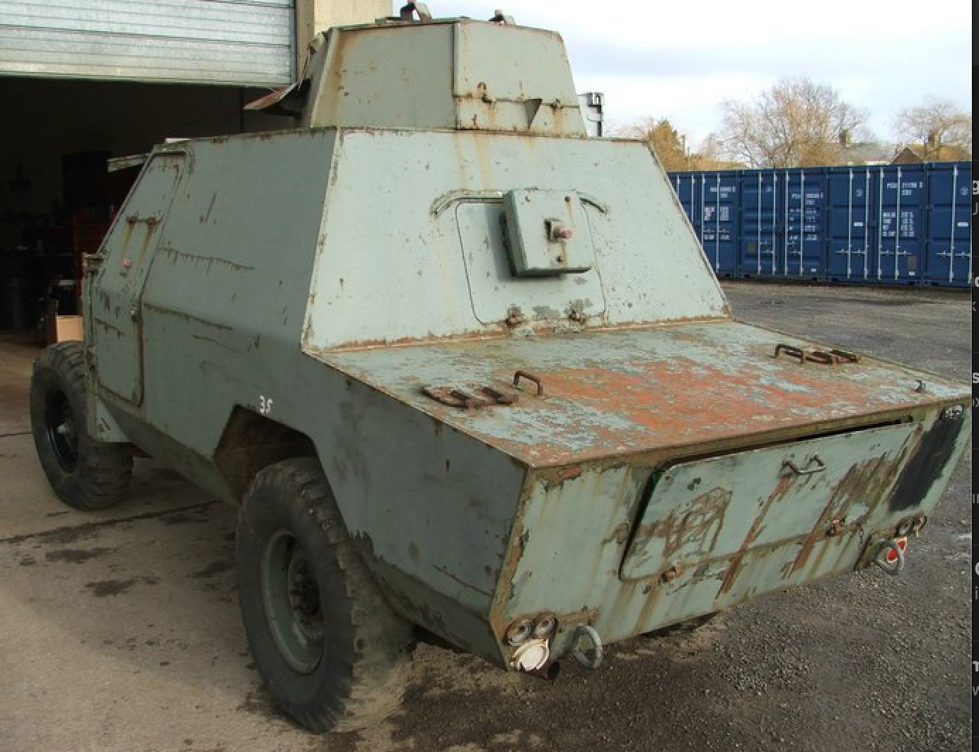 1972 Land Rover Shorland Mk3 For Sale (picture 3 of 3)