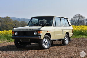 1972 Range Rover Suffix A For Sale