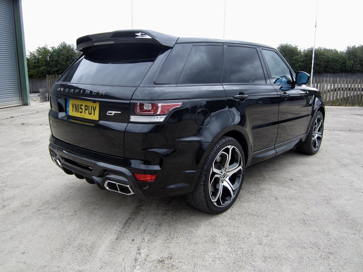 2015 Range Rover Overfinch 3.0 SDV6 HSE Dynamic For Sale (picture 3 of 6)