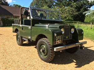 1955 Land Rover Series 1 86 For Sale