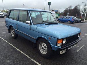1982 RANGE ROVER CLASSIC 2-DOOR IN-VOGUE 1981 For Sale