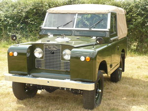 "1968 Land Rover 88"" Series 2A Petrol Soft-Top For Sale"
