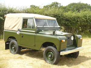 """1968 Land Rover 88"""" Series 2A Petrol Soft-Top For Sale"""