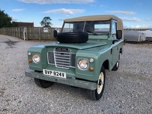 1979 Land Rover® Series 3 *Soft Top* (BVP) For Sale