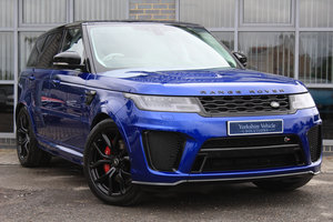 2019 19 RANGE ROVER SPORT 5.0 V8 SVR AUTO [VAT QUALIFYING] For Sale