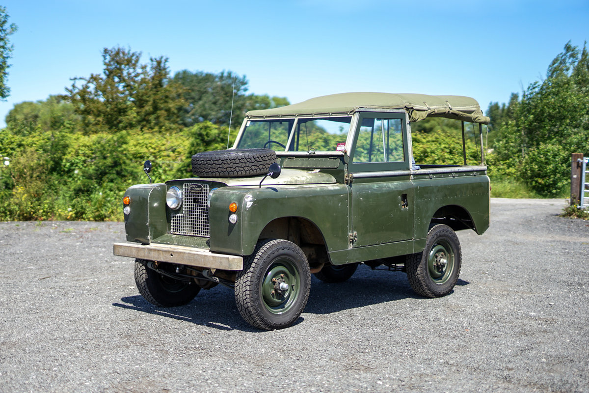 Land Rover Series 2a 88 1963 2.25 Petrol Very Original Examp For Sale (picture 2 of 6)