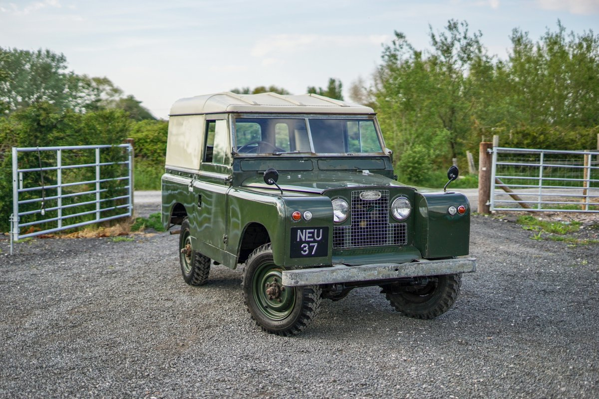 Land Rover Series 2a 88 1963 2 Owners & 73,000 Miles NEU 37 For Sale (picture 1 of 6)