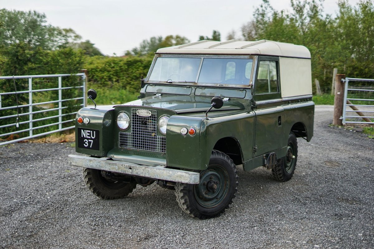 Land Rover Series 2a 88 1963 2 Owners & 73,000 Miles NEU 37 For Sale (picture 4 of 6)