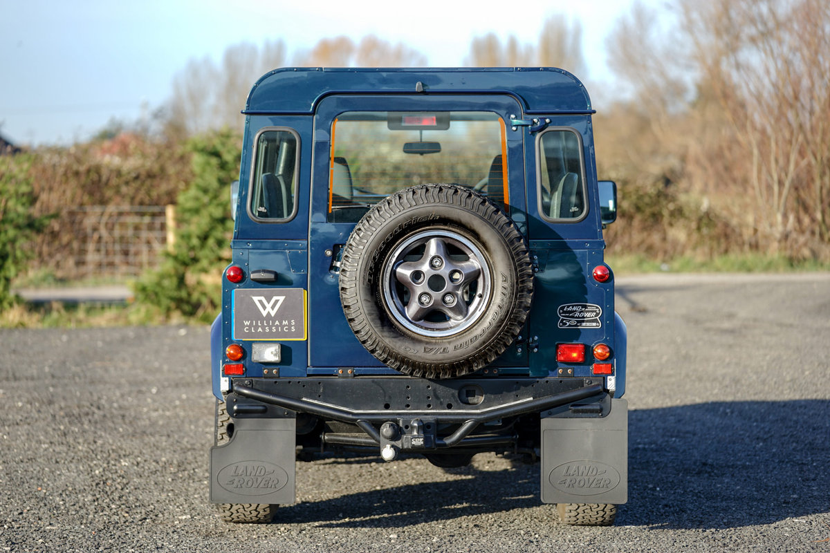 1999 Land Rover Defender 90 50th Anniversary Edition 4.0 V8 Autom SOLD (picture 6 of 6)