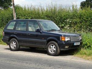 1997 1996 Range Rover 4.6 HSE - low mileage