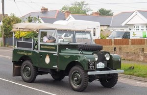 1957 Series One Land Rover, restored For Sale