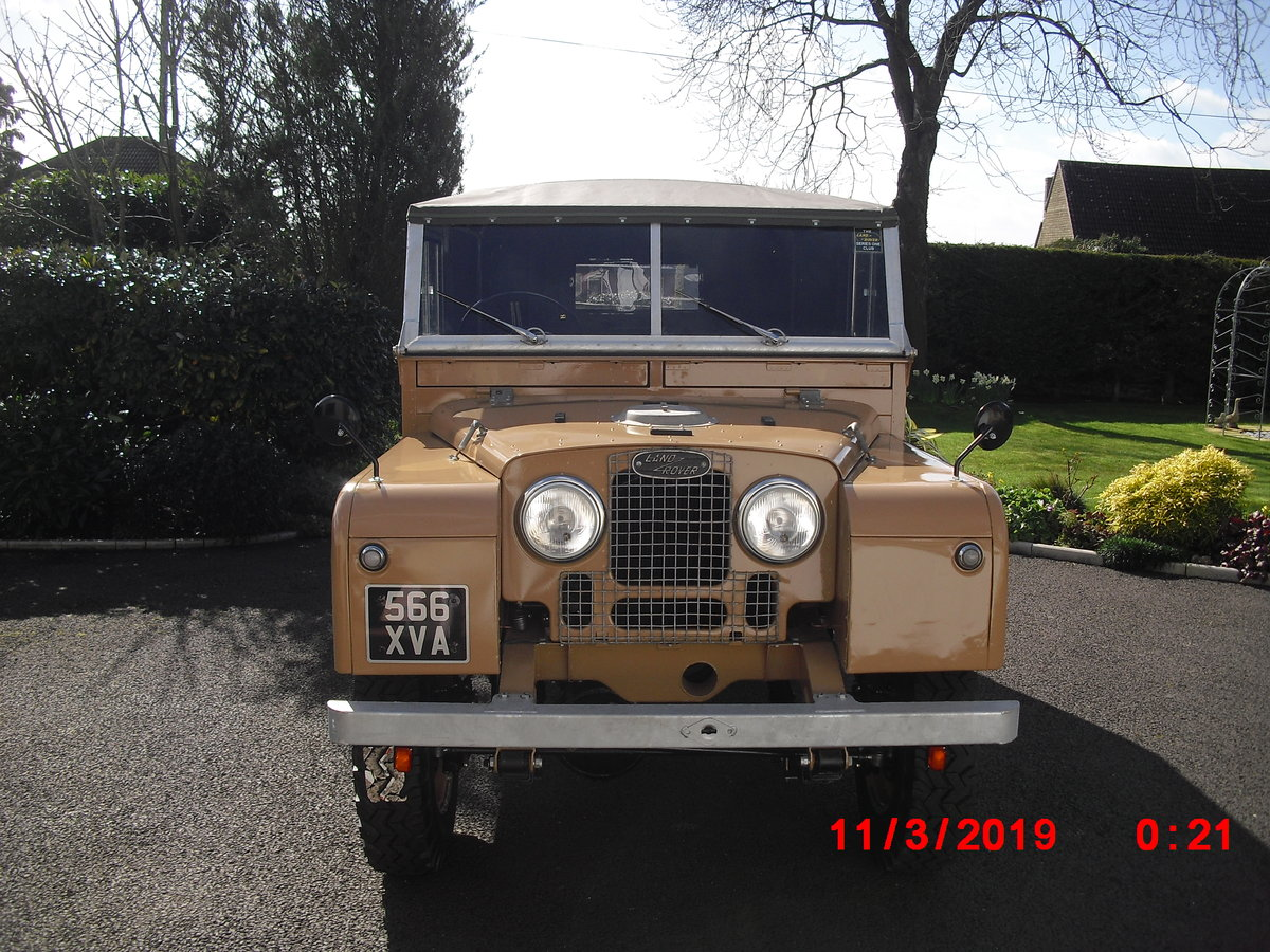 1954 Land Rover Series 1 86