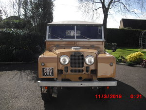 "1954 Land Rover Series 1 86"" Fully Restored For Sale"