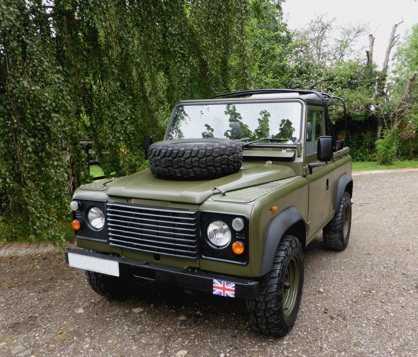 1988 Ex Mod Land Rover 90 Soft Top SOLD (picture 1 of 6)