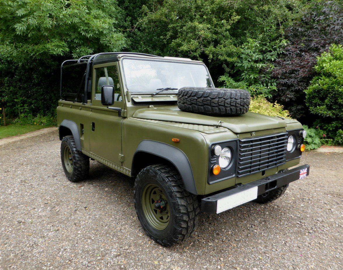 1988 Ex Mod Land Rover 90 Soft Top SOLD (picture 2 of 6)