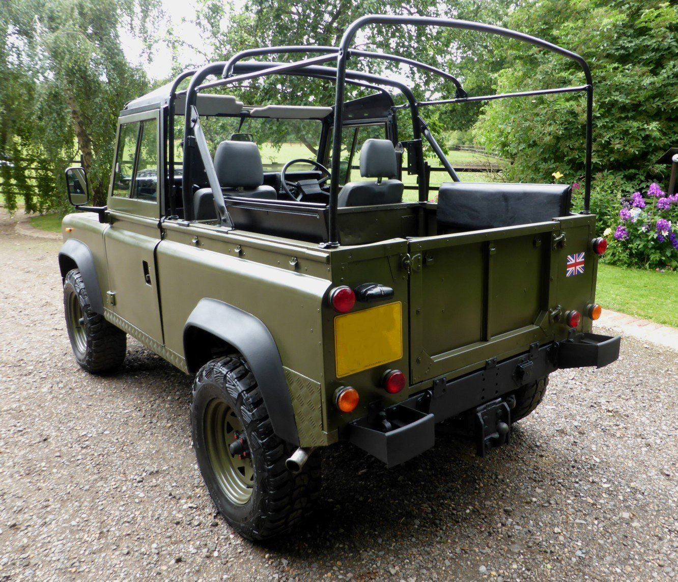 1988 Ex Mod Land Rover 90 Soft Top SOLD (picture 3 of 6)