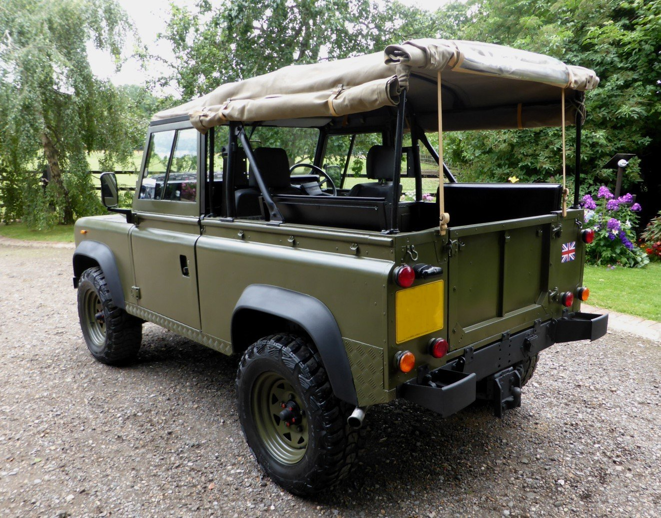 1988 Ex Mod Land Rover 90 Soft Top SOLD (picture 4 of 6)