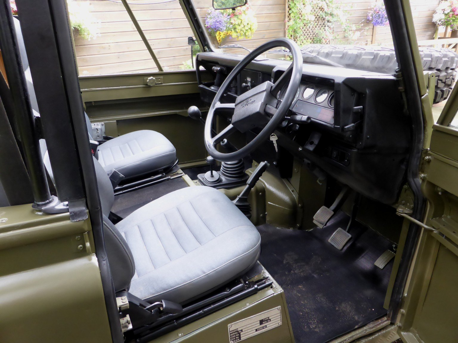 1988 Ex Mod Land Rover 90 Soft Top SOLD (picture 5 of 6)
