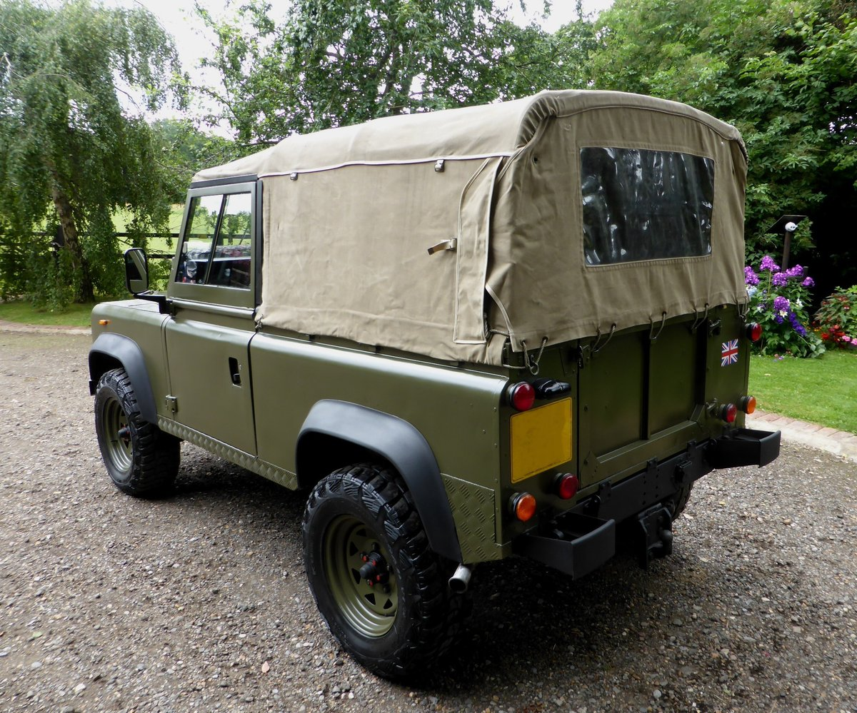 1988 Ex Mod Land Rover 90 Soft Top SOLD (picture 6 of 6)