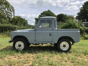 1970 Land Rover series 2a 88 For Sale