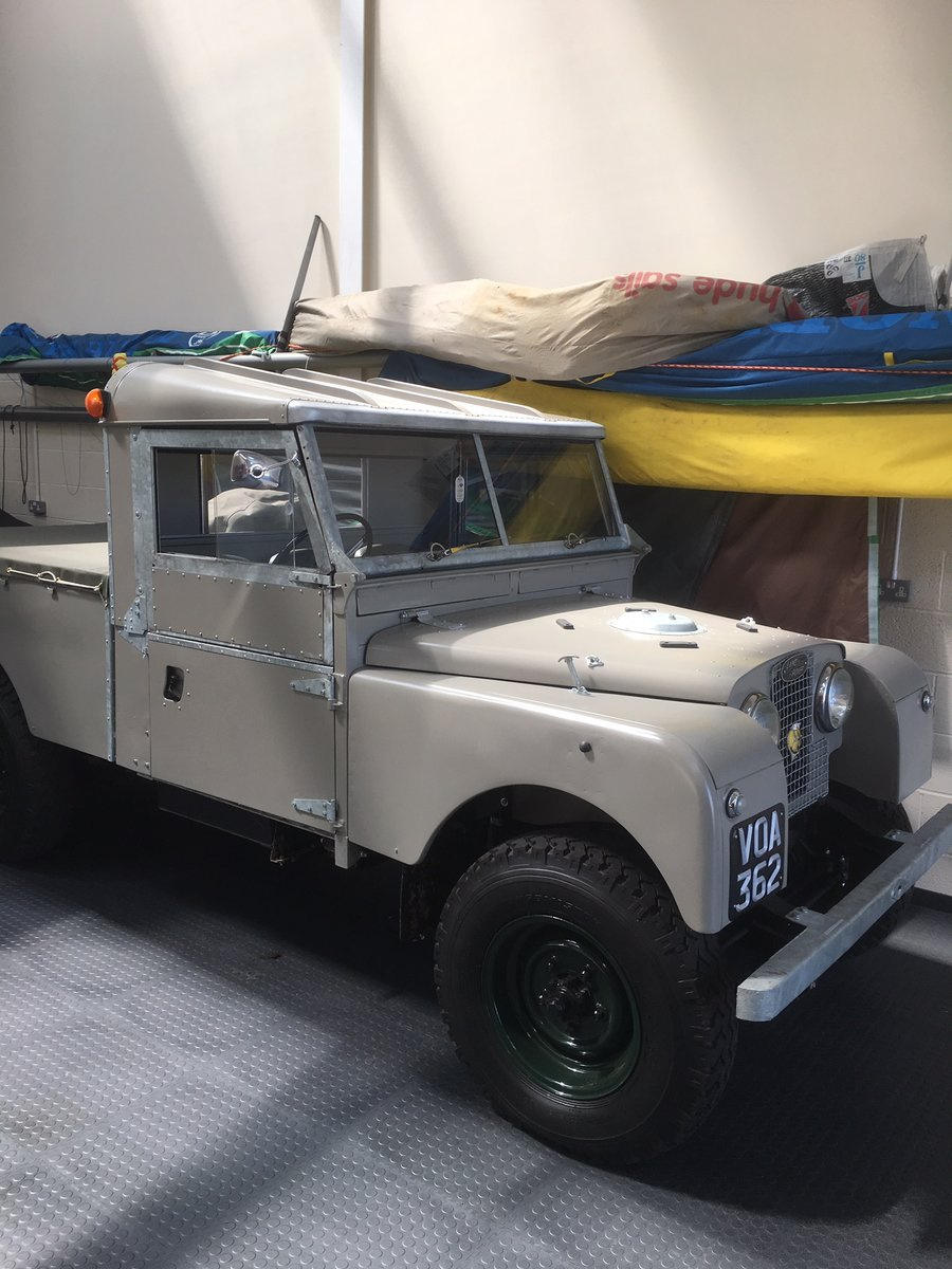 1957 Land Rover series one 107