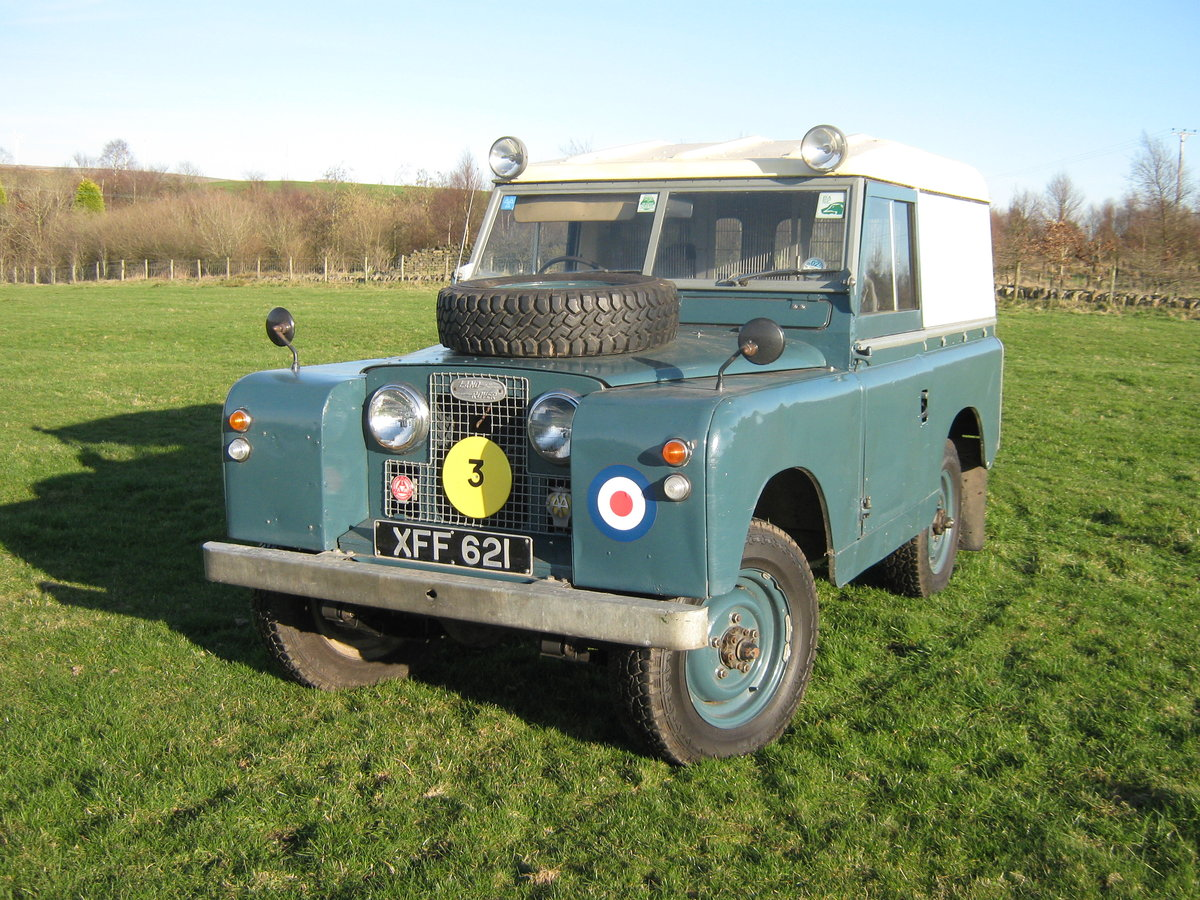 1959 Land Rover Ex RAF  For Sale (picture 2 of 6)