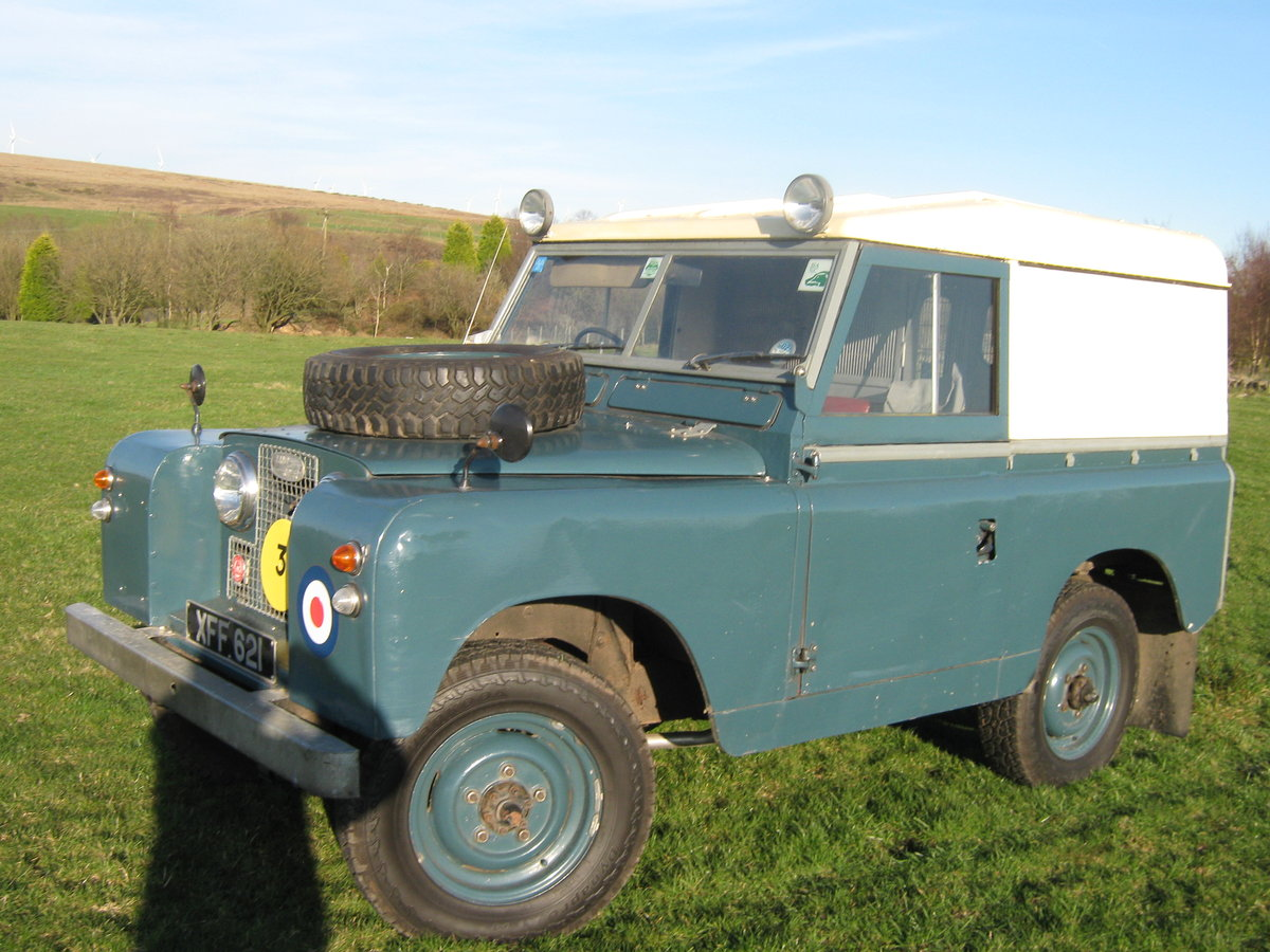 1959 Land Rover Ex RAF  For Sale (picture 5 of 6)
